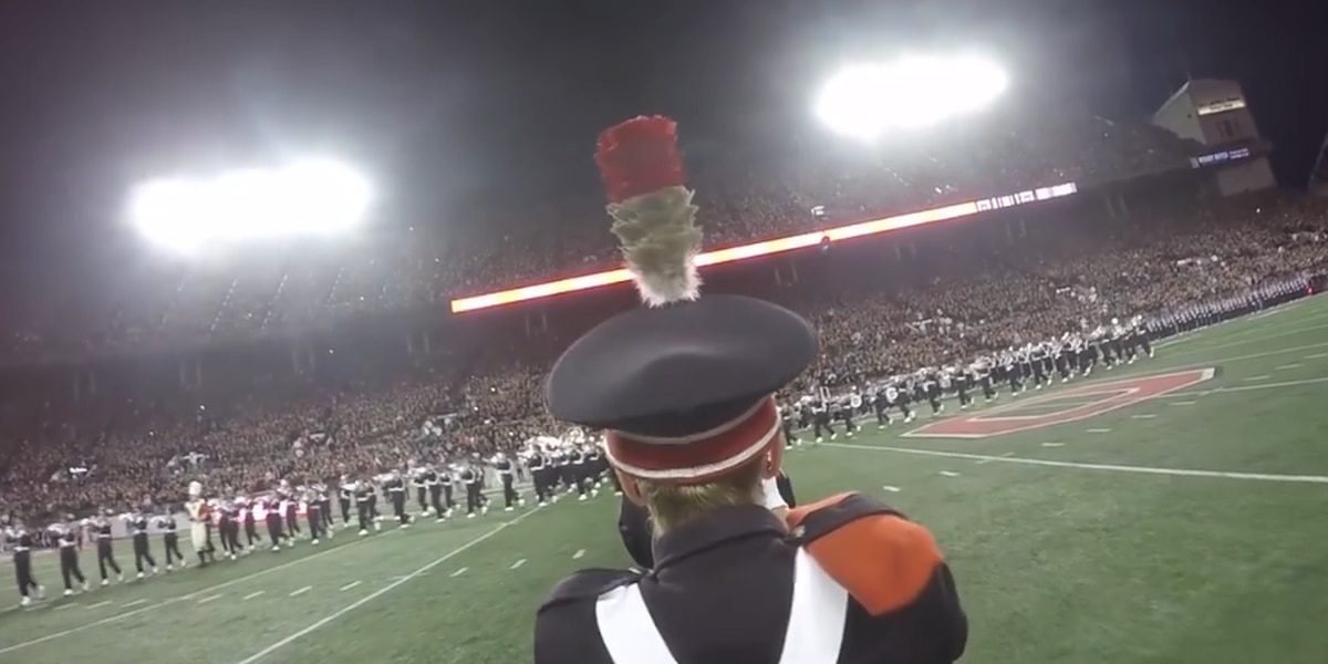 Here's what it is like being part of the Ohio State University Marching Band (video)