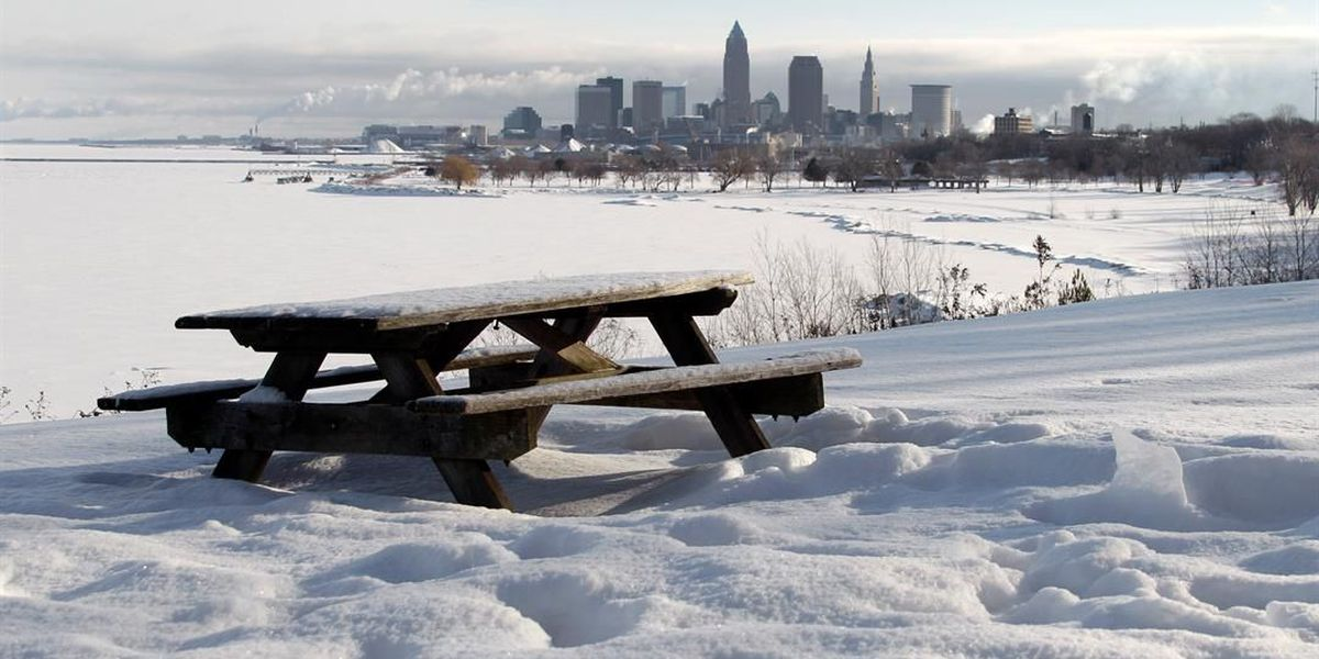 Northeast Ohio weather: Winter feel continues