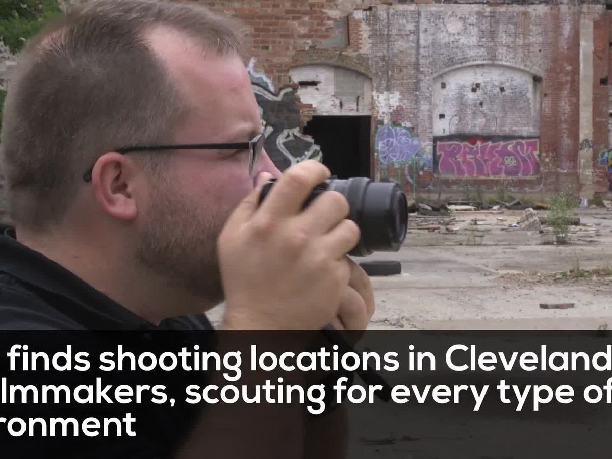 See how Cleveland locations are picked for major motion pictures