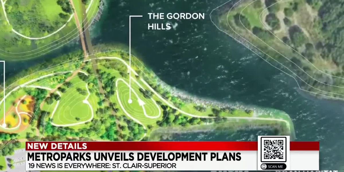 Metroparks unveils proposed shoreline renovation project