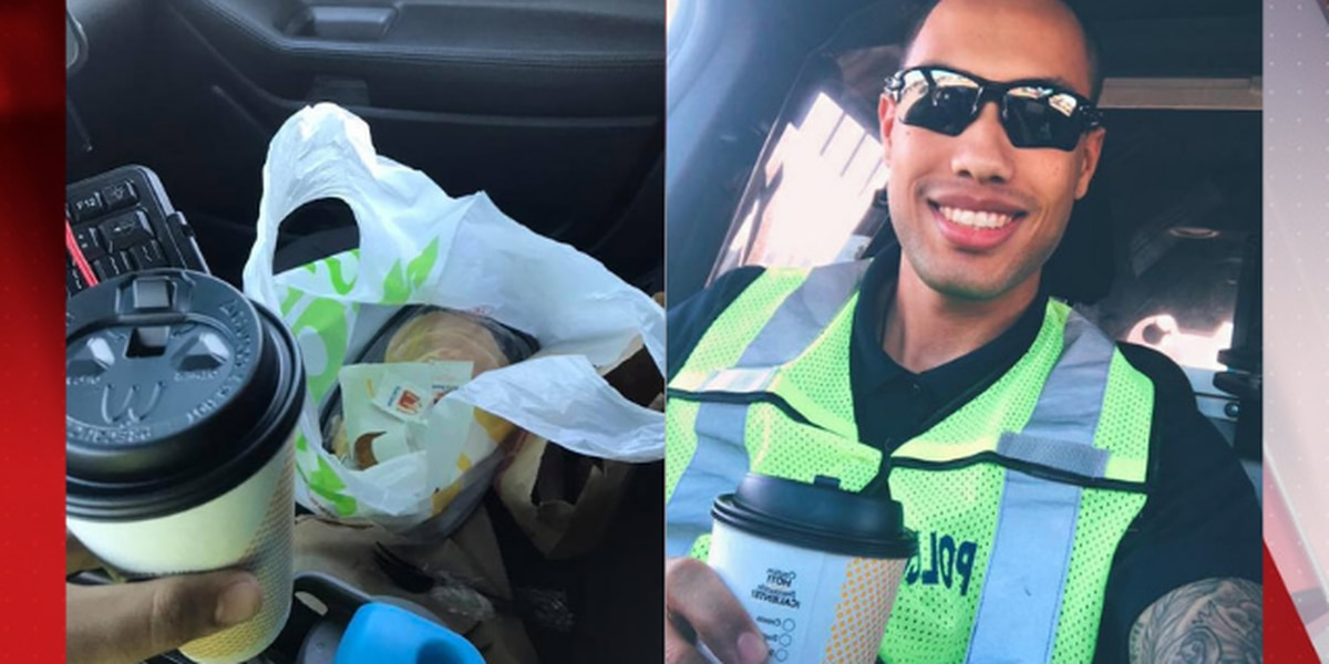 Stranger surprises Massillon police officer with McDonald's breakfast