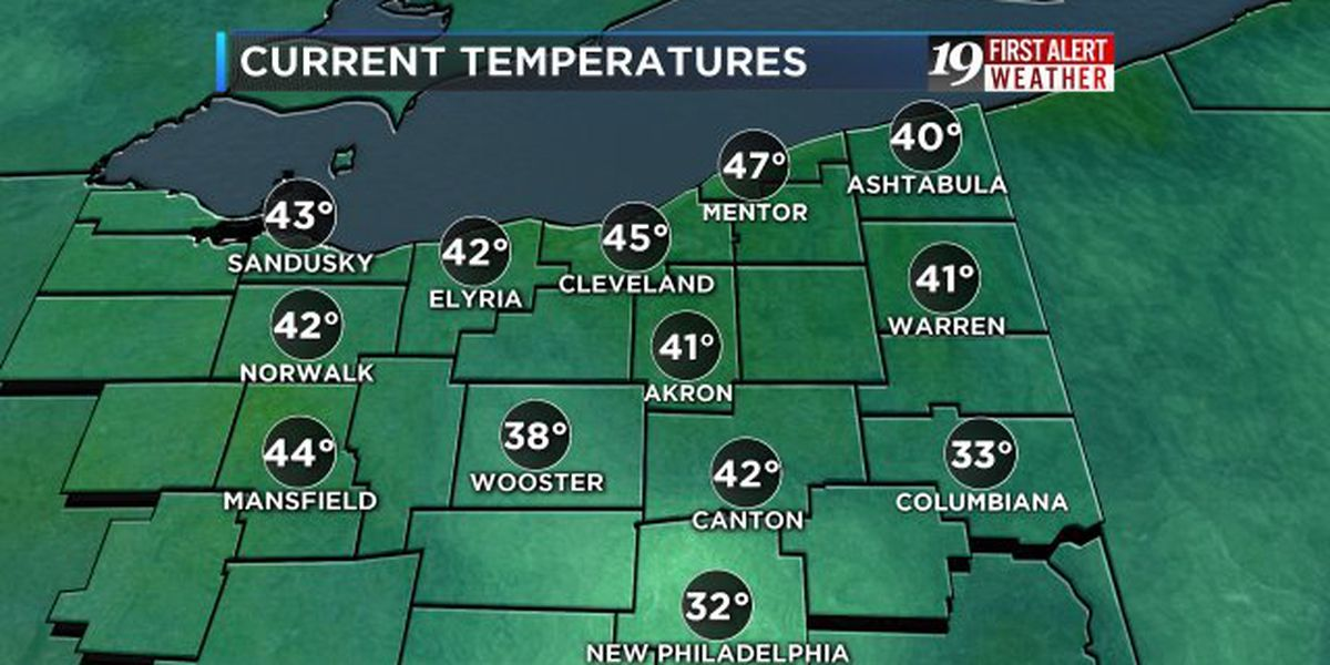 Northeast Ohio weather: Waves of rain Thursday and Friday