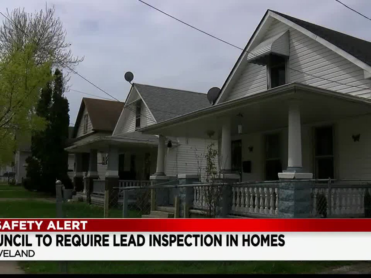 City of Cleveland calls for landlords to test homes for lead