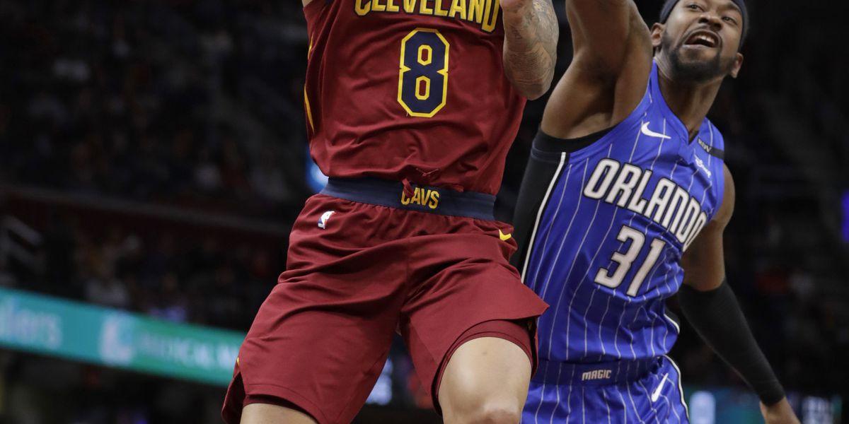 Clarkson, Love lead Cavaliers past Magic 107-93