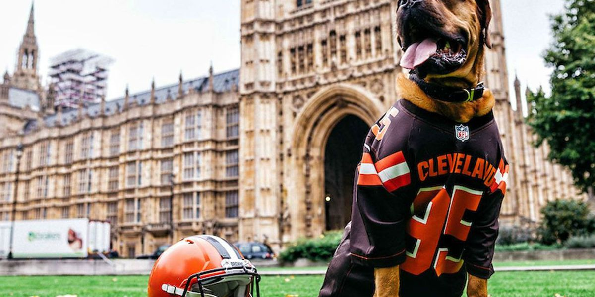Cleveland Browns get new mascot for Week 8 game in London