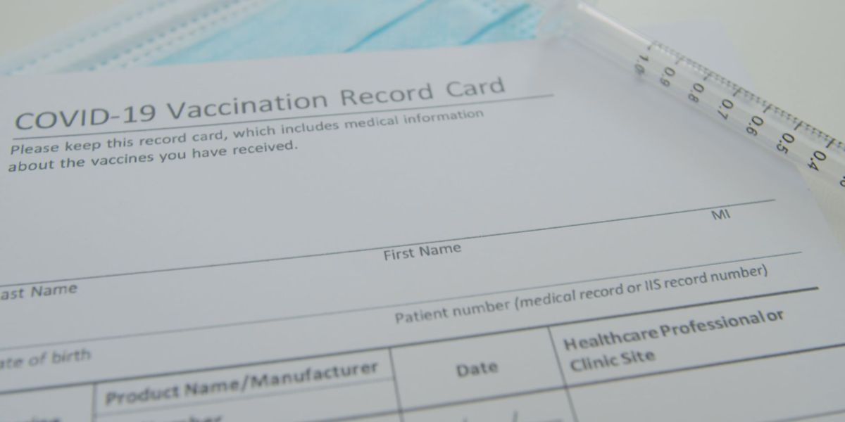 Now that you're vaccinated, how should you keep your vaccine card safe?