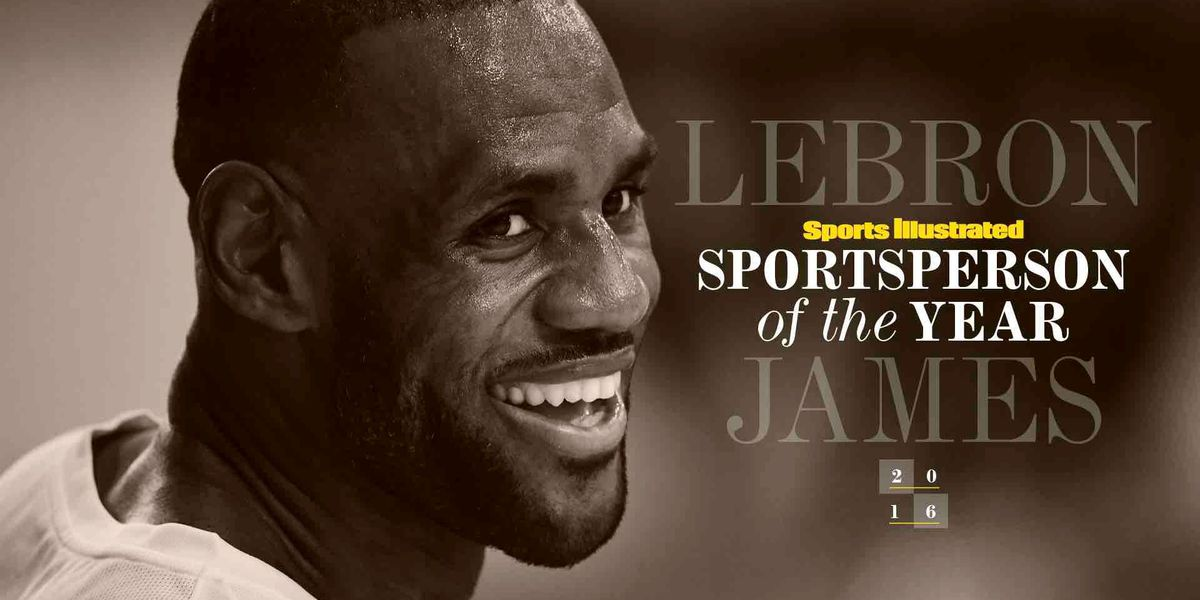 SI's 2016 Sportsperson of the Year is LeBron James (video)