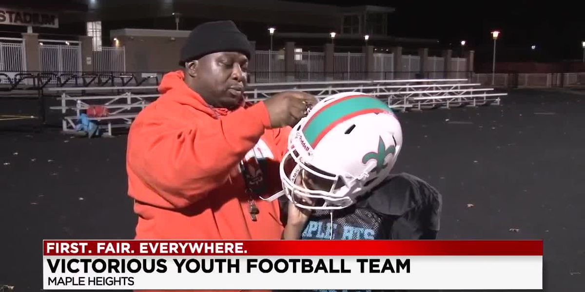 Maple Heights youth football team competing for national championship