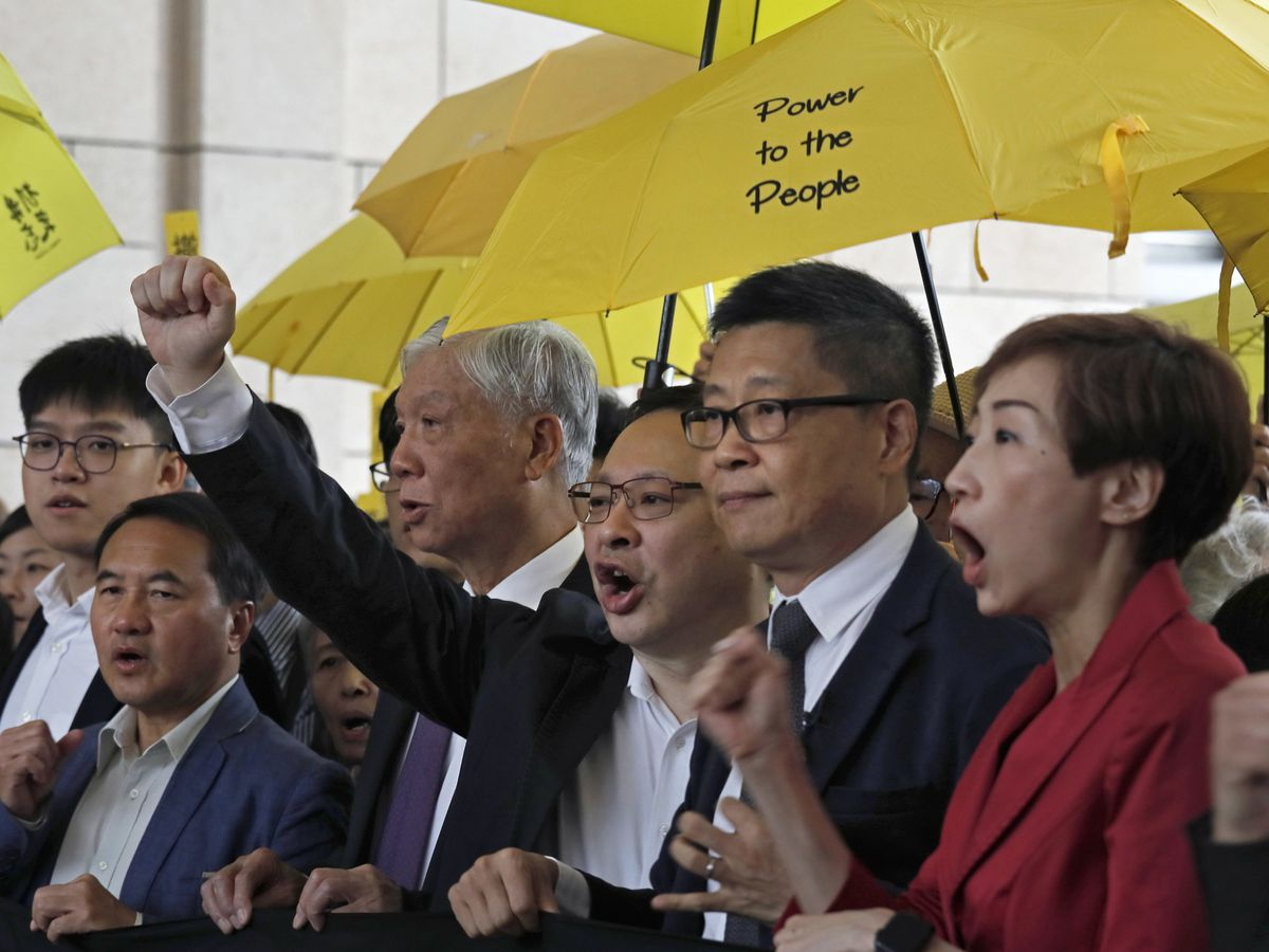 Hong Kong starts trial for 9 accused in 2014 Occupy protests