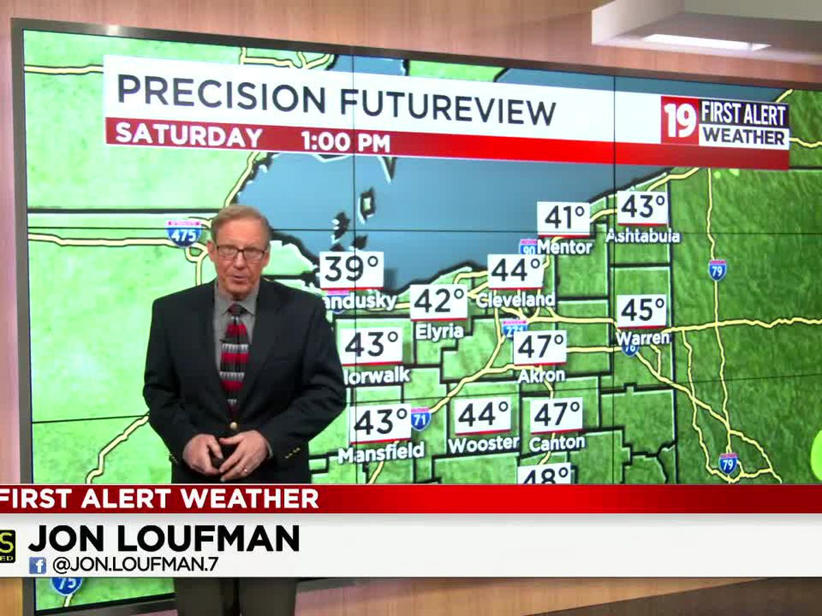 Northeast Ohio weather: A spring-like weekend ahead!