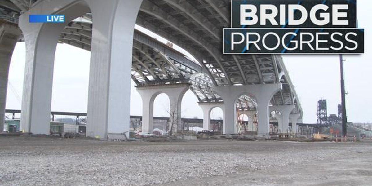 Second Innerbelt Bridge span 80 percent completed