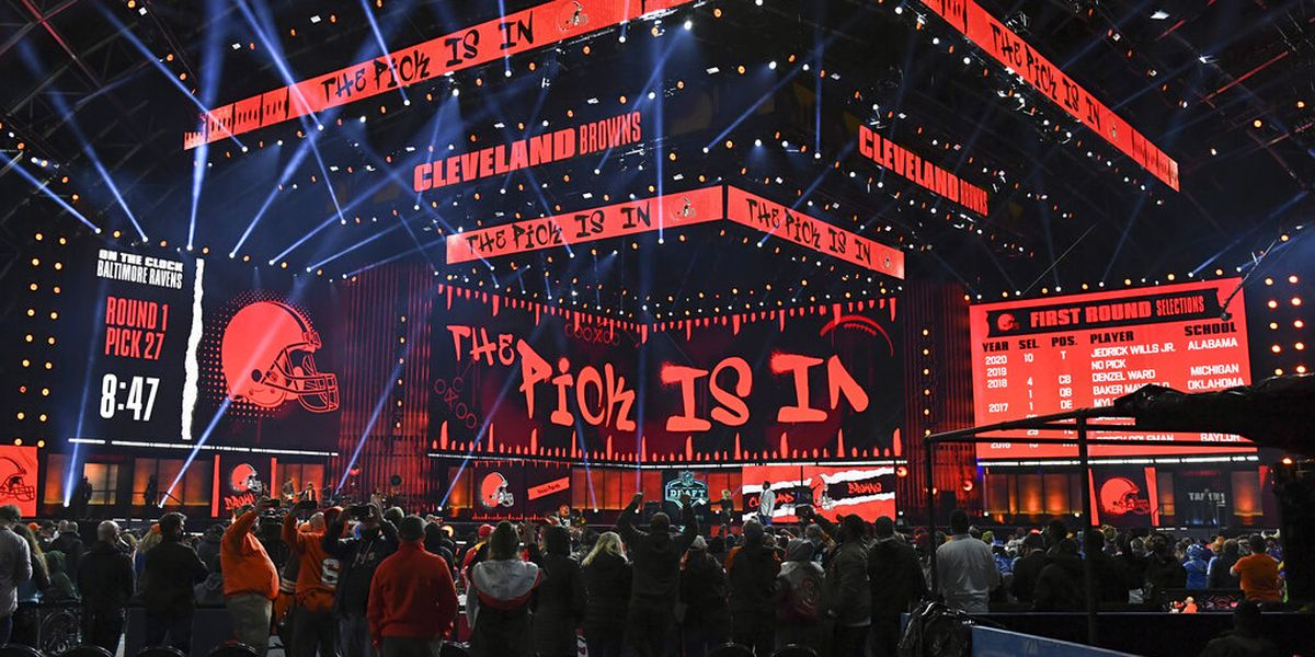 Despite fog, city of Cleveland looked great during NFL Draft and got plenty of social media love