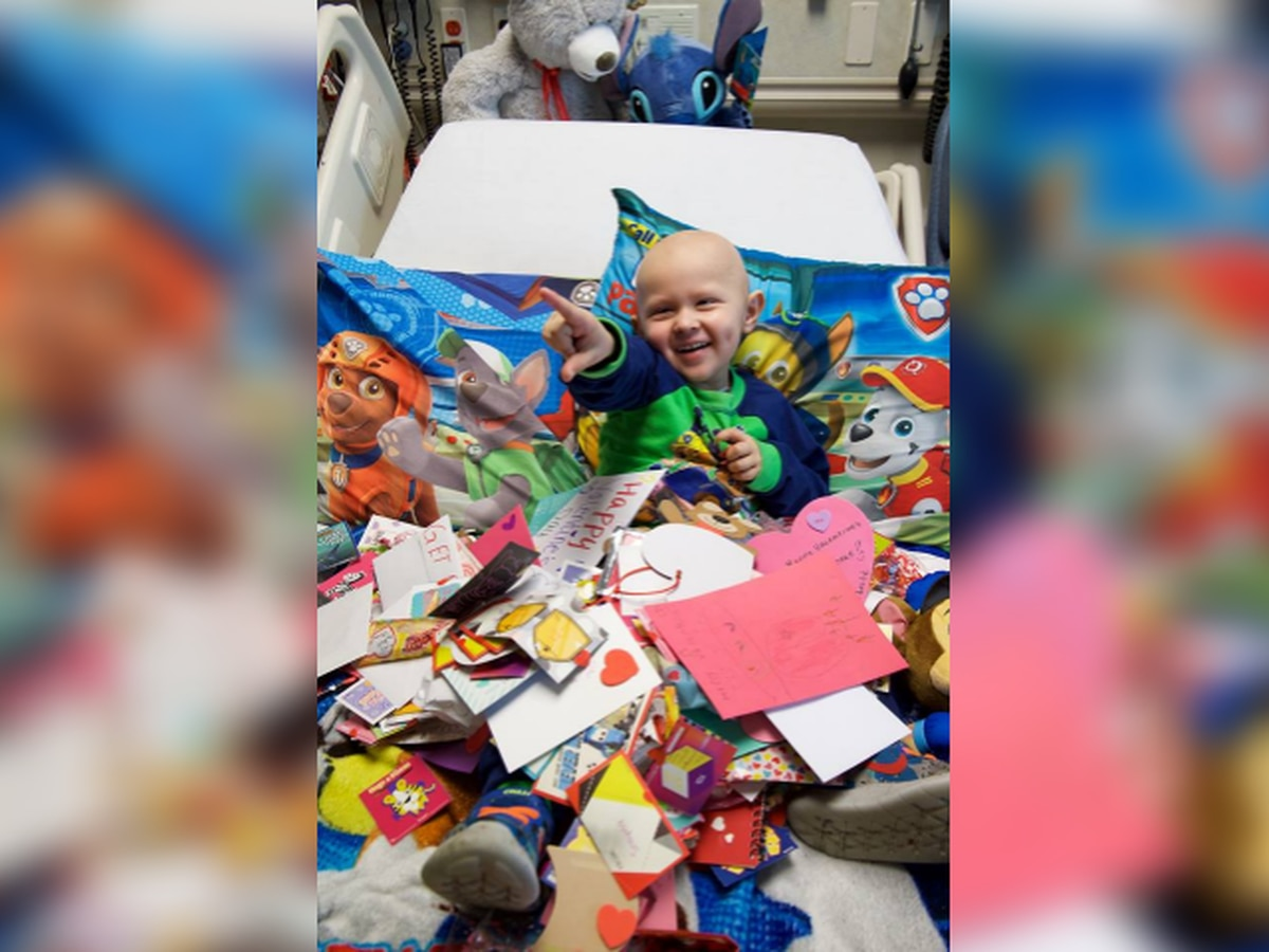 Valentine's Day cards being collected for children battling cancer at Northeast Ohio hospitals