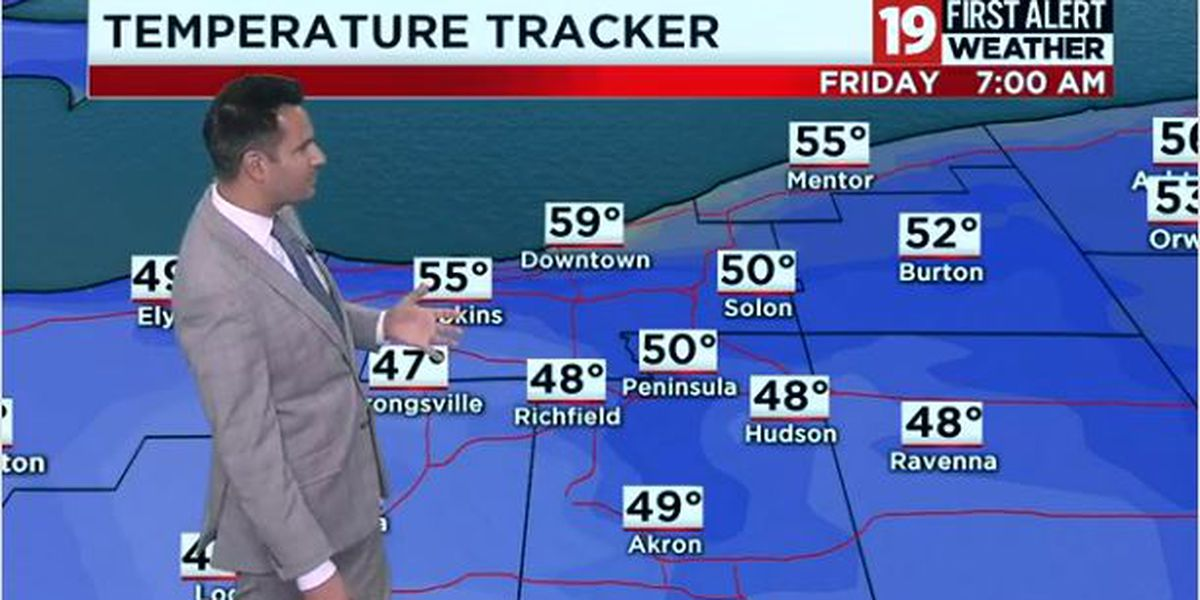 Northeast Ohio weather: Heads up for showers and storms tonight