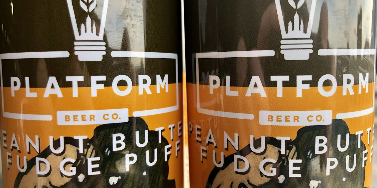 Platform's Peanut Butter Fudge Puff beer is turning sweet dreams to reality
