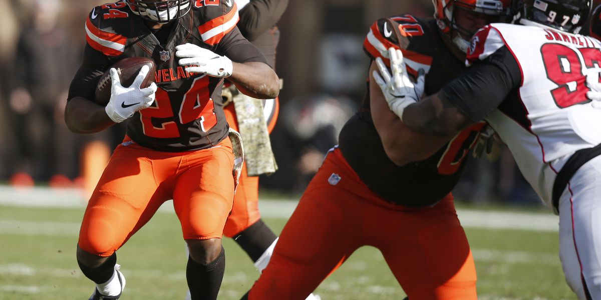Cleveland Browns defeat Atlanta Falcons 28-16