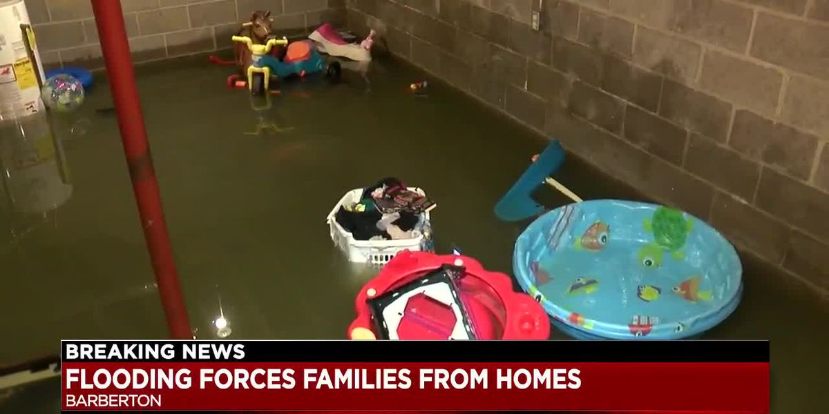Flooding forcing several families out of their homes in Summit County