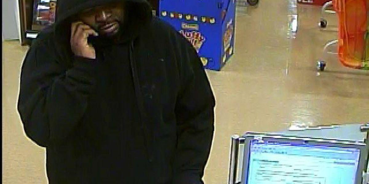 Man wanted for robbing Huntington Bank inside Brooklyn Giant Eagle