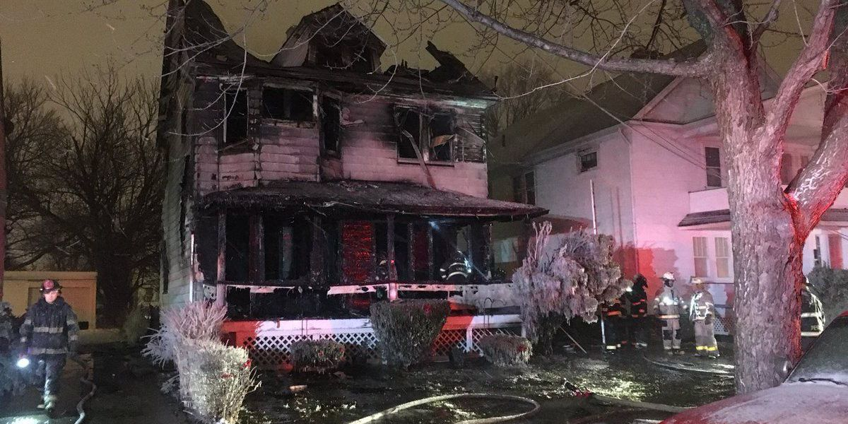 Vigil, GoFundMe set up for family of 4 killed in Collinwood house fire