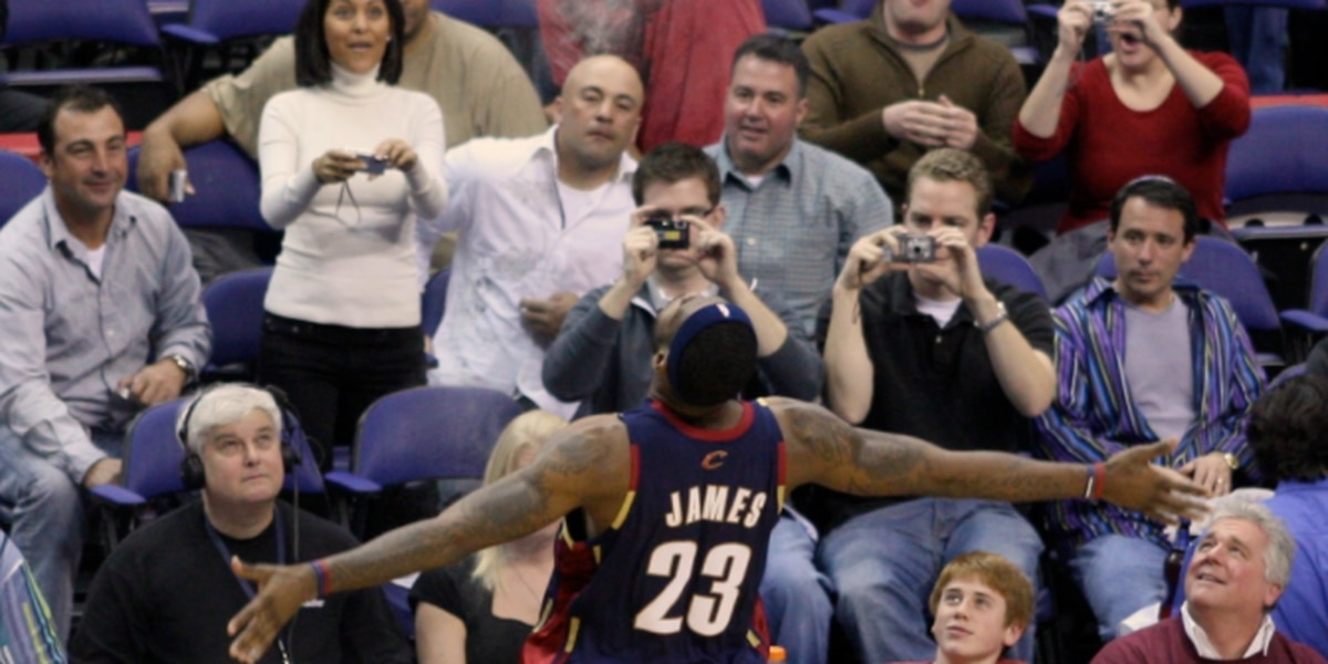 Do you remember where you were for LeBron's Game 5 against Detroit? Mark Schwab shares a story from the Tribe press box