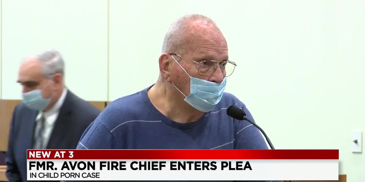 Former Avon fire chief pleads no contest to pandering obscenity involving a minor