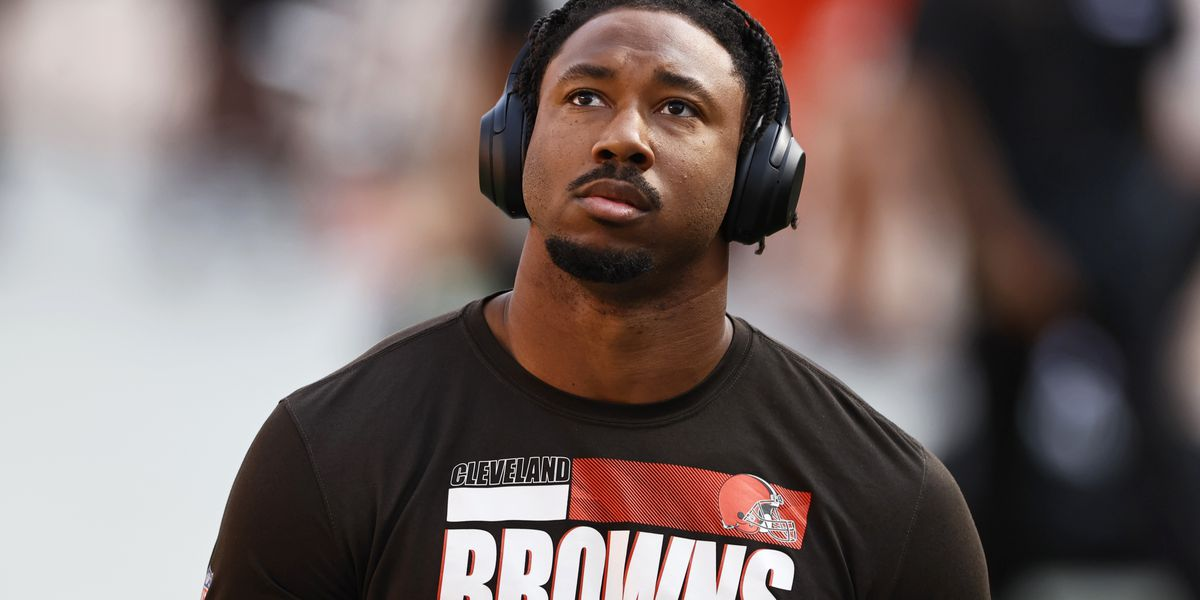 Browns star defensive end Myles Garrett hoping for happy homecoming Sunday