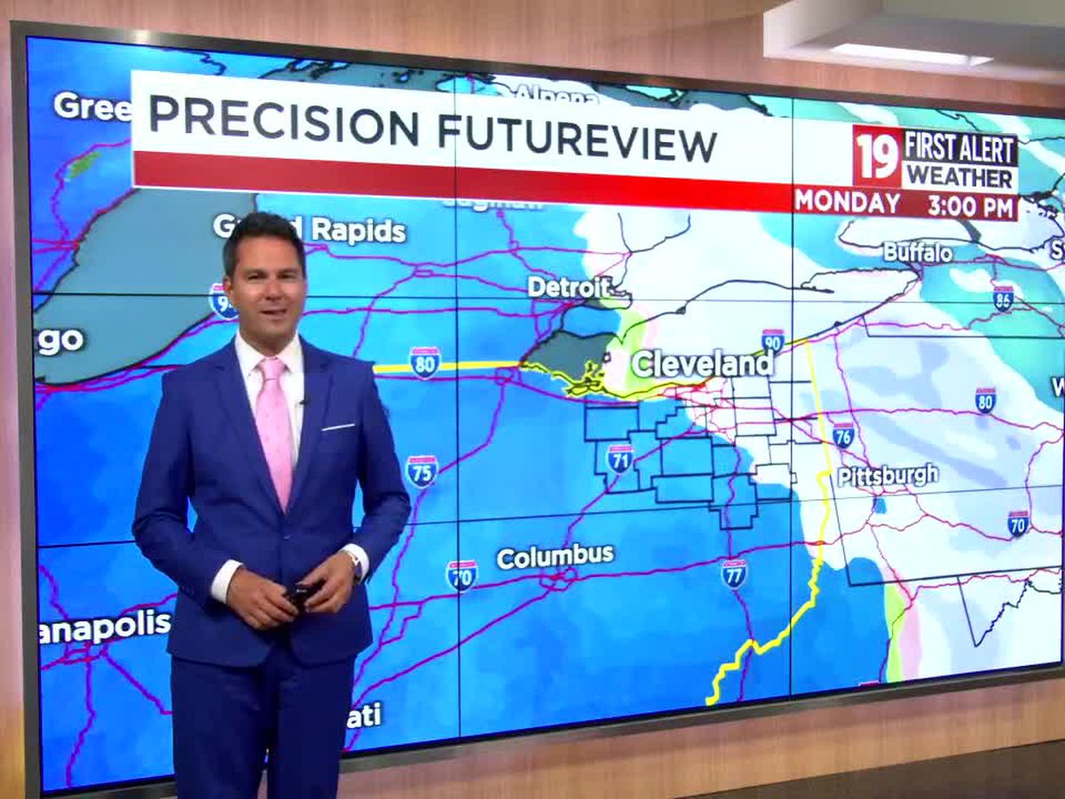 19 First Alert weather: First snow flurries of the season possible this weekend