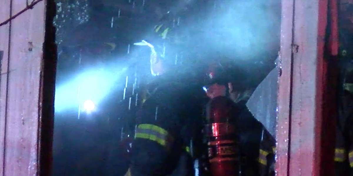 Firefighter injured while battling overnight house fire in Cleveland
