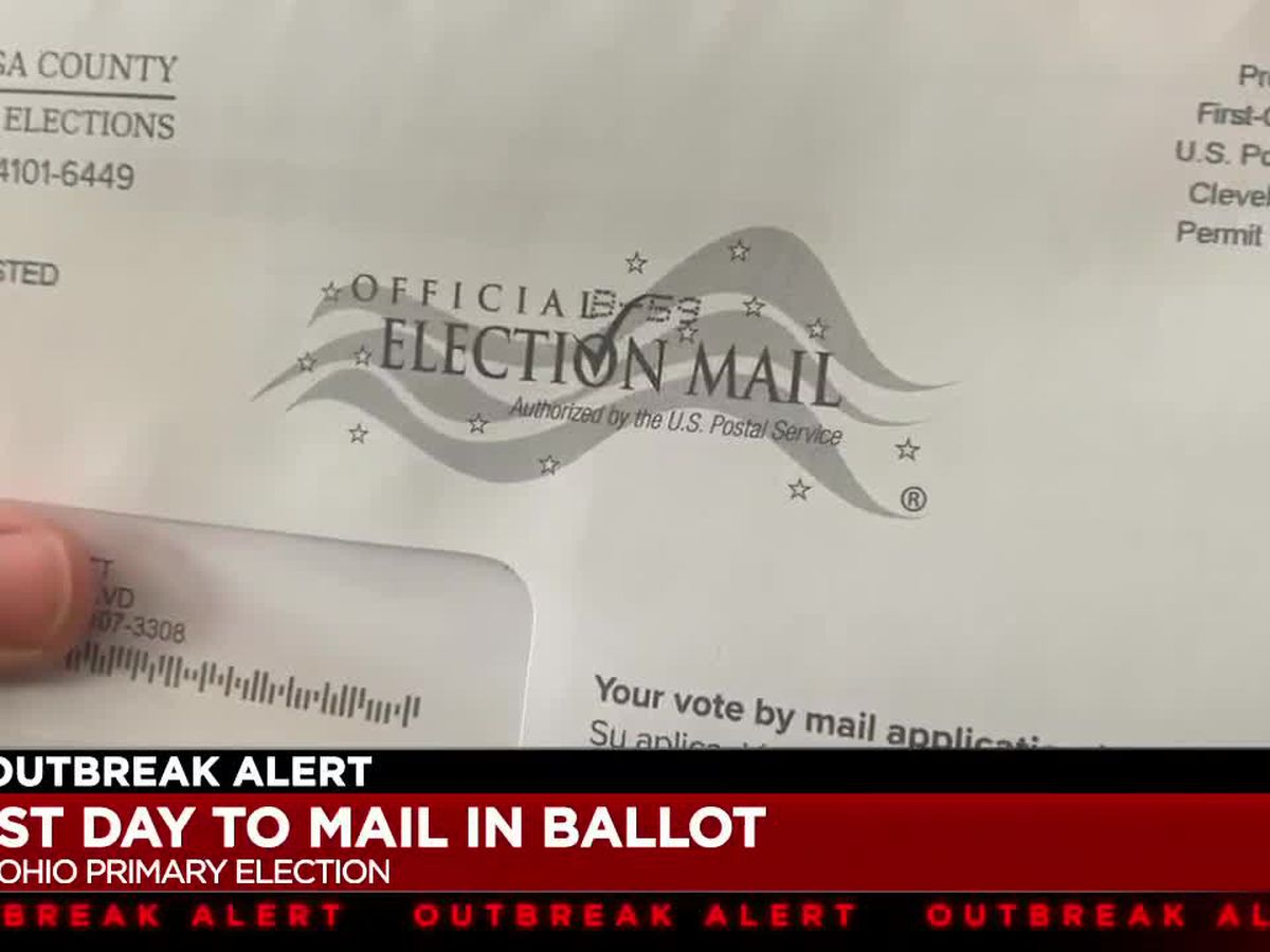 Coronavirus pandemic forced Ohio residents to vote by mail for state's primary election