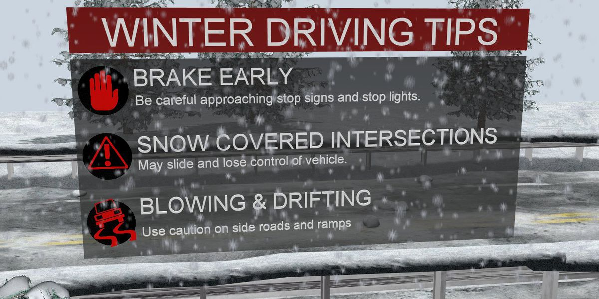 19 First Alert Traffic: Remember these tips when driving in winter weather