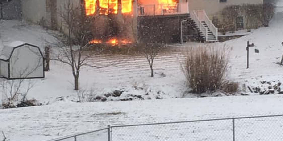 Space heater starts fire in Uniontown, Stark County home