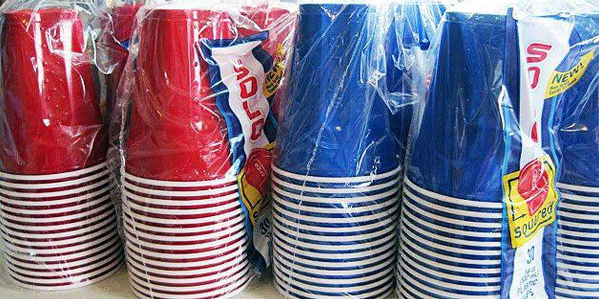 Cuyahoga County warns Red Solo Cups could ruin your Super Bowl party buzz