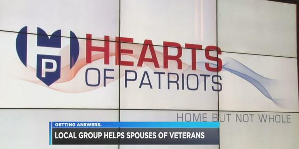 Organization aims to help veteran's spouses when they return home