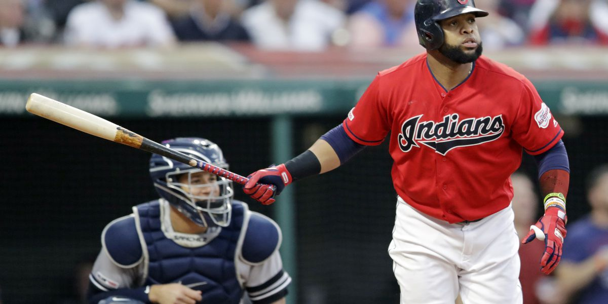 Santana's homer powers Indians past Yankees 5-2