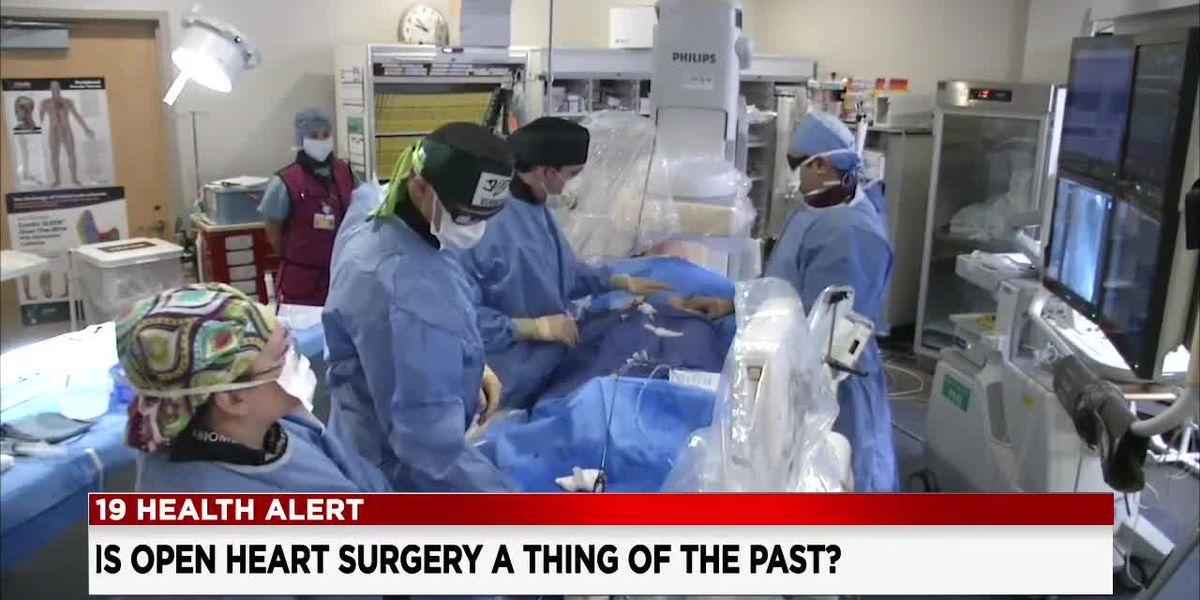 More than 30,000 patients can now avoid open heart surgery and recover quicker