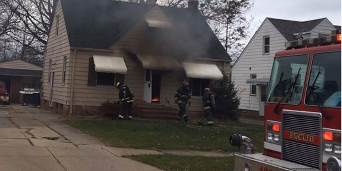 Euclid man escapes house fire through first-floor bedroom window