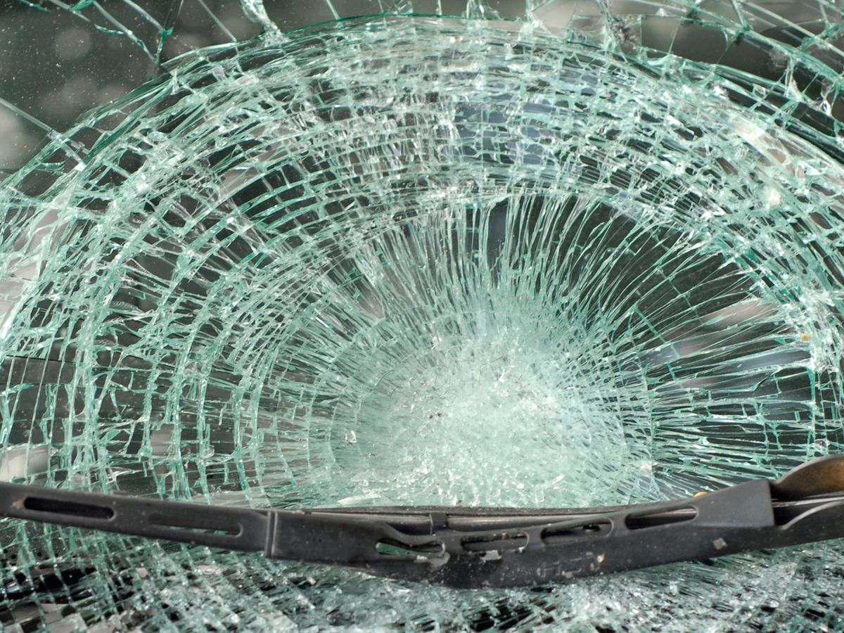 Another driver says windshield shattered by I-76 debris