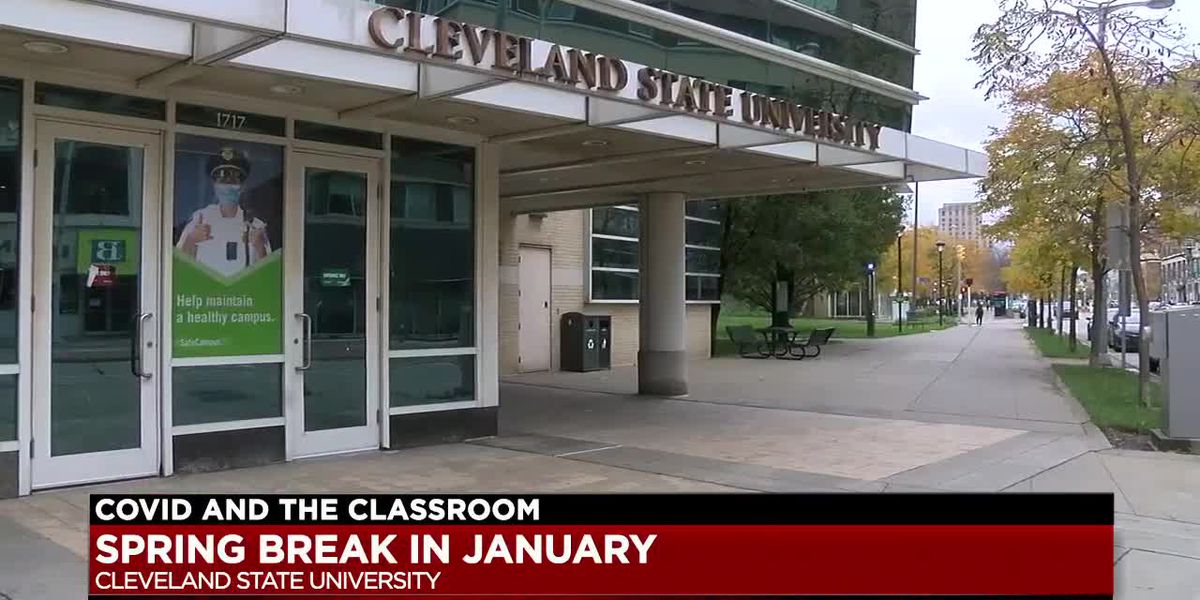Cleveland State University moves spring break over coronavirus concerns