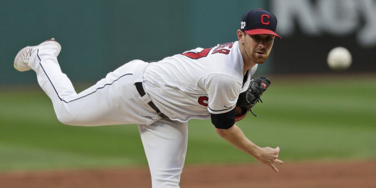 Bieber strikes out nine, Indians beat White Sox 8-6