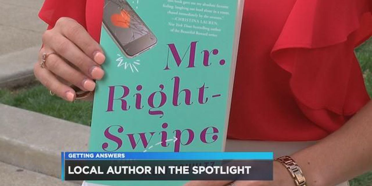 Local author is getting rave reviews on her new book 'Mr. Right-Swipe'