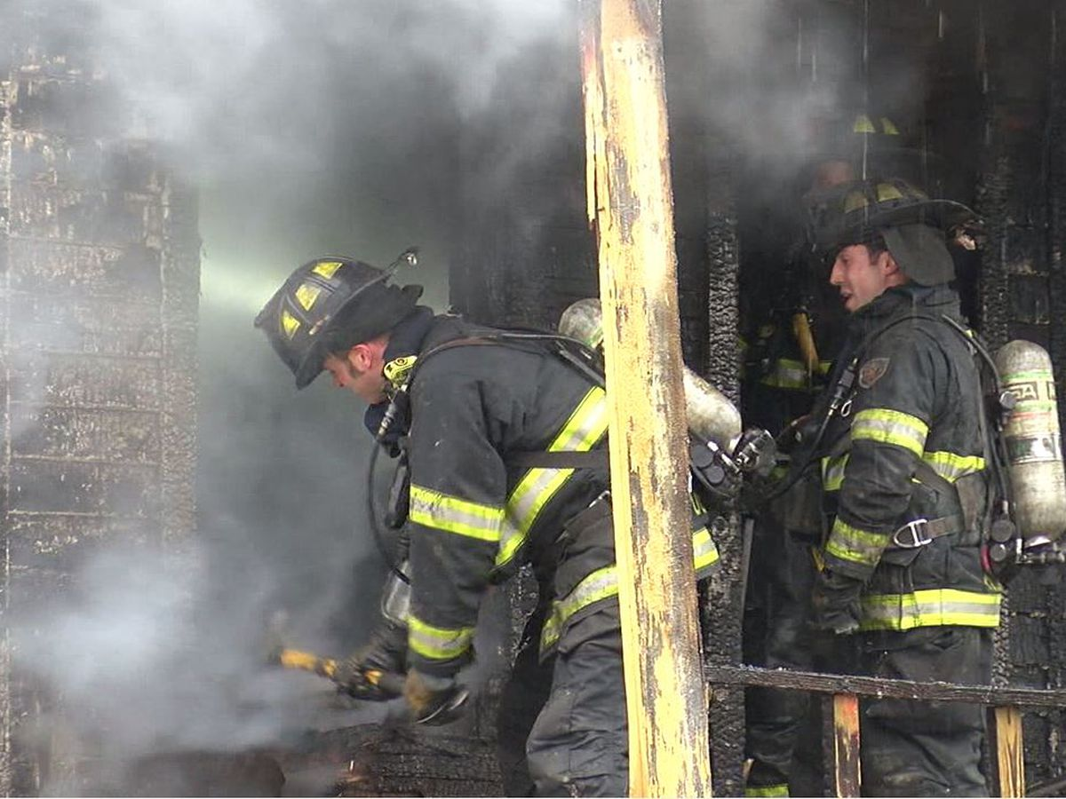 Cleveland firefighters are using expired N95 masks, according to union president