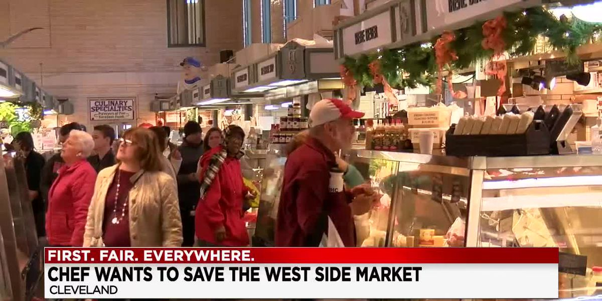 Cleveland's Chef Rocco makes pitch to take over West Side Market