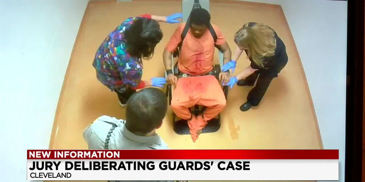 Jury to decide fate of Cuyahoga County Jail guards accused of viciously beating inmate