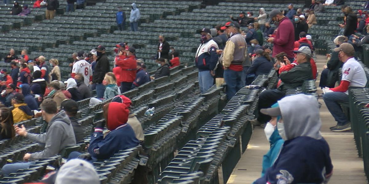 Cleveland Indians fans adjust to the new normal at Progressive Field
