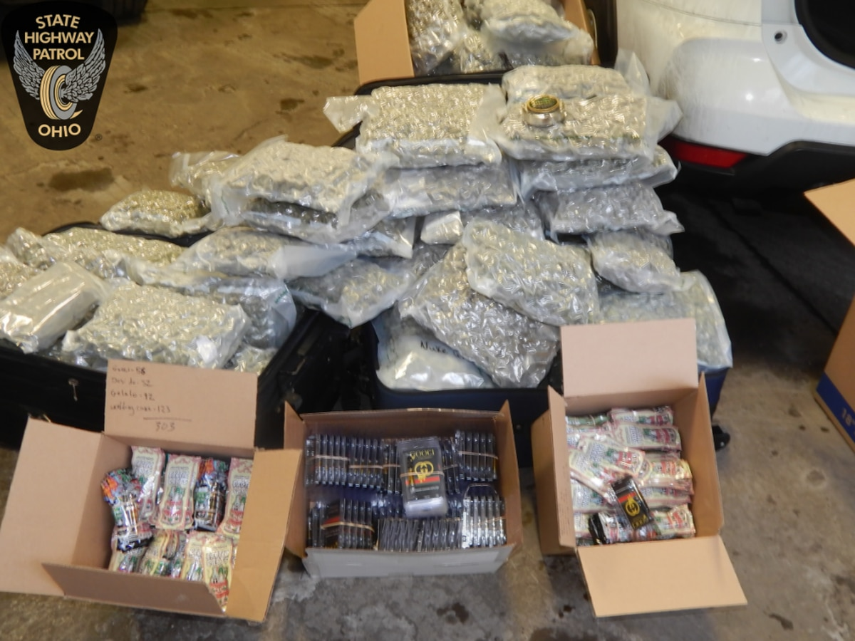 Ohio troopers seize $275K in drugs after routine traffic stop