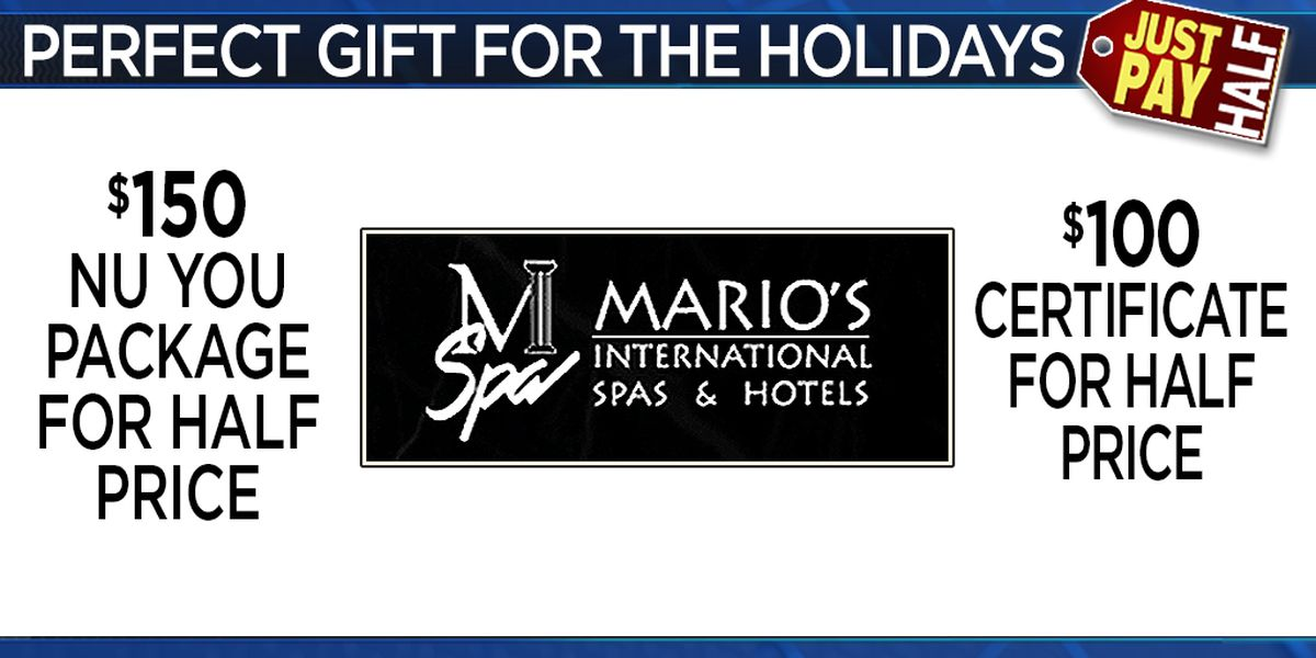 Noon News Giveaway, Mon 11/19 - Wed 11/23 ~ Win a Mario's Gift Certificate