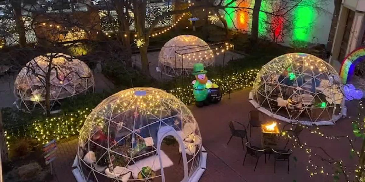 Lakewood restaurant will set up 'igloos' on patio in order to maintain social distancing during winter months