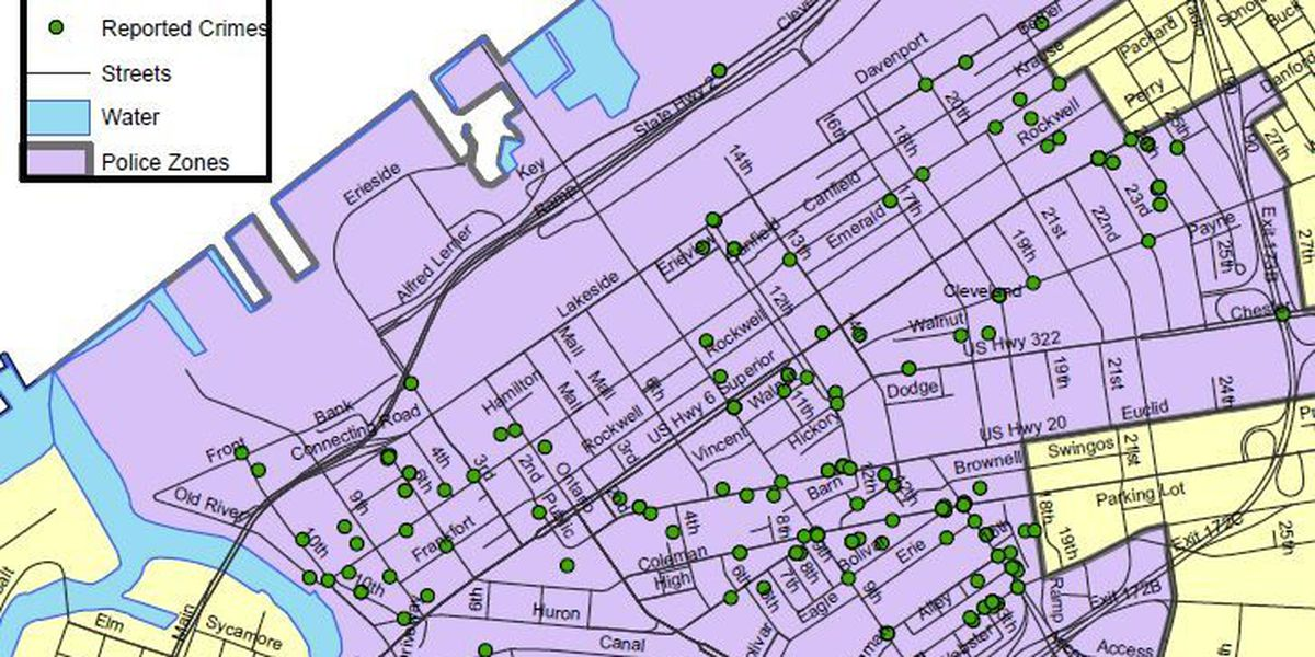 Downtown Cleveland crime: Where and when is it happening?