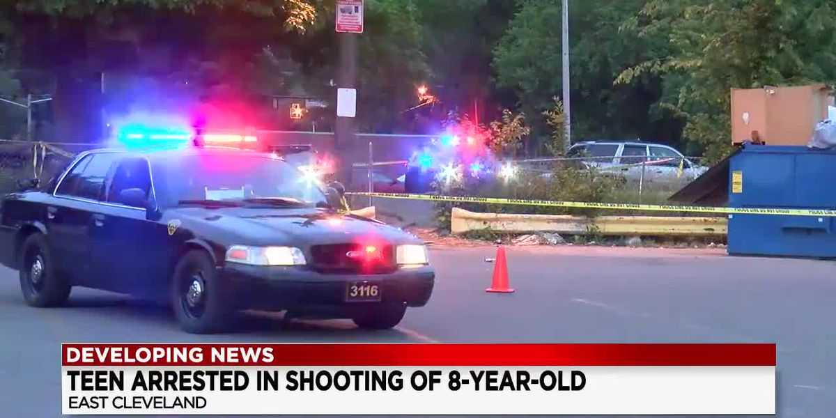 Teen boy suspected of shooting 8-year-old girl in East Cleveland arrested by US Marshals