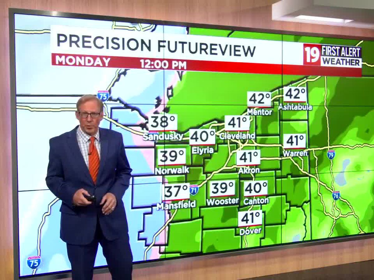 Northeast Ohio Weather: ALERT DAYS Monday, Tuesday for rain, accumulating snow and high wind gusts